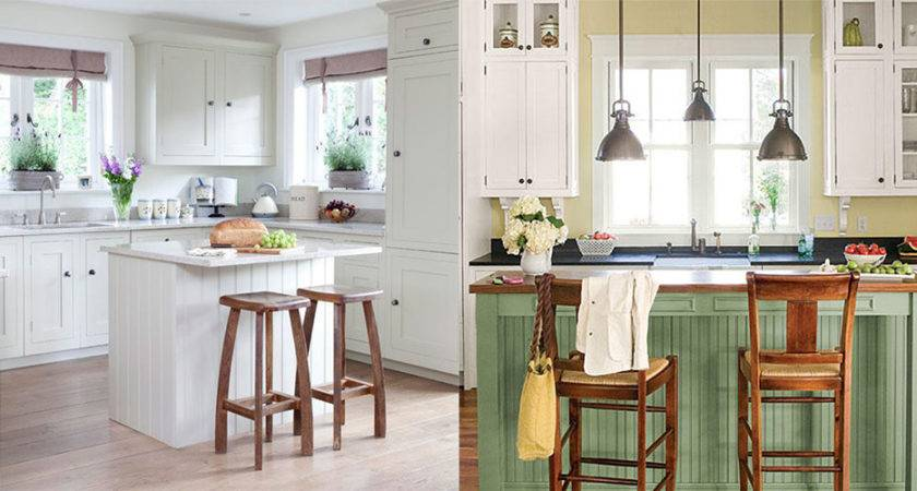 Modern Kitchens Cottage Style Kitchen Ideas Features