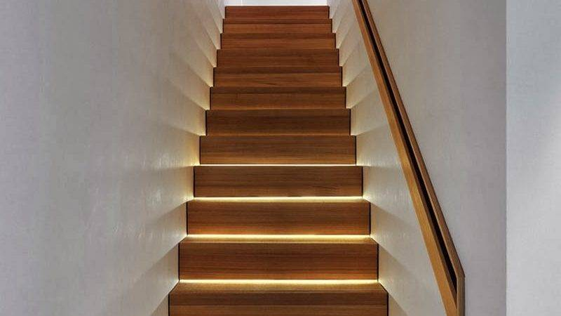 Modern Lighting Ideas Turn Staircase Into
