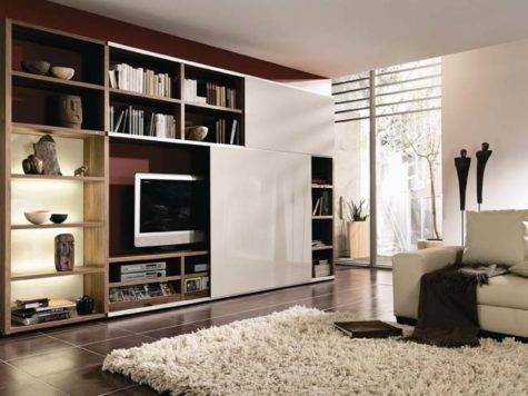 Modern Living Room Furniture Cabinet Designs