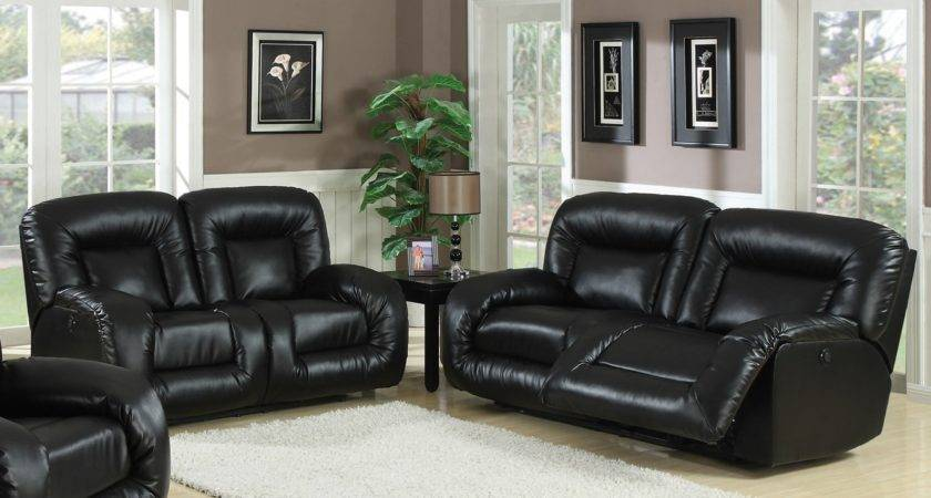 Modern Living Room Ideas Black Leather Sofa