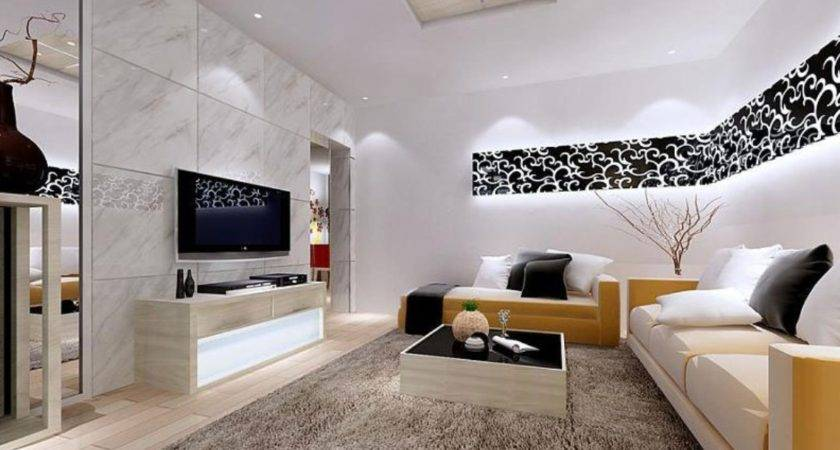 Modern Living Room Interior Design Partition