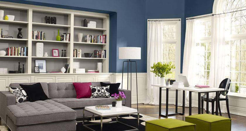 Modern Living Room Paint Schemes