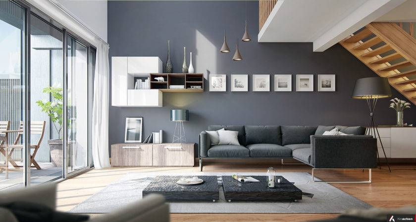 Modern Living Rooms Cool Clean Lines