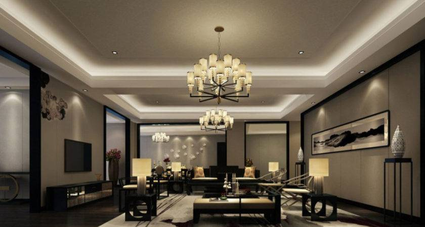 Modern Luxury Living Room Ideas Lighting