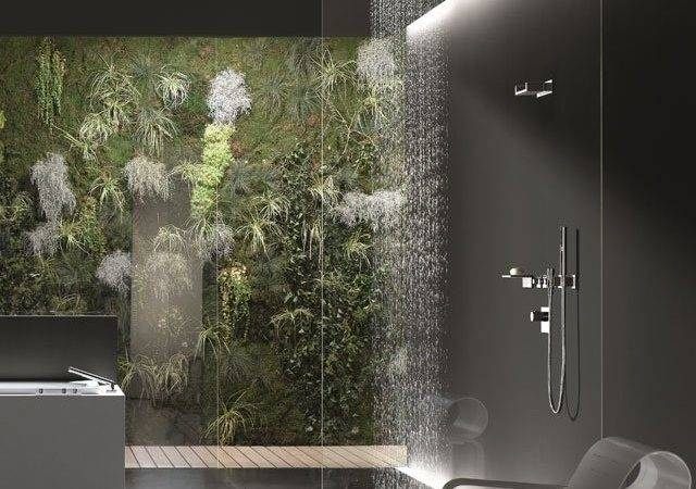 Modern Natural Bath Fittings Accessories Shower