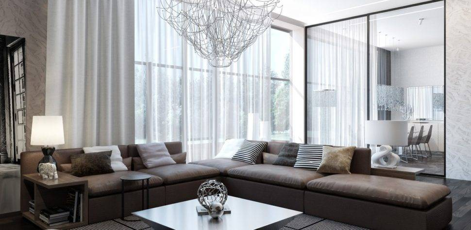 Modern Neutral Living Room Interior Design Ideas
