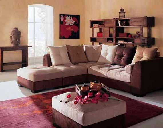 Modern Oriental Living Room Home Designs Project