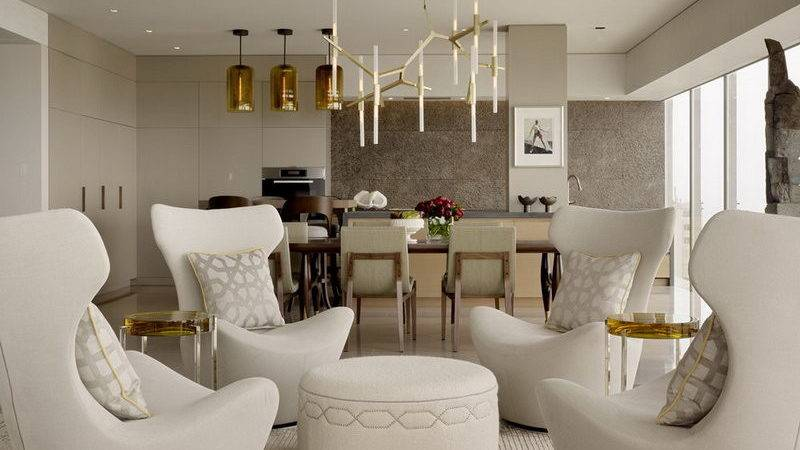 Modern Pop Glamour Astonishing Apartment San