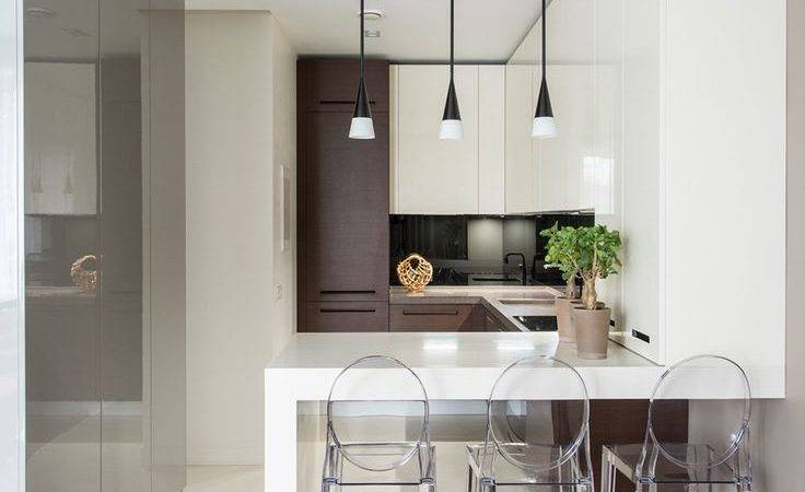 Modern Small Kitchen Design Ideas Bar