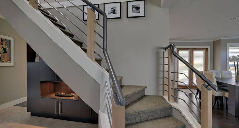 Modern Stair Railing Staircase Contemporary Open