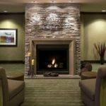 Modern Stone Fireplace Design Ideas Home Interior Exterior