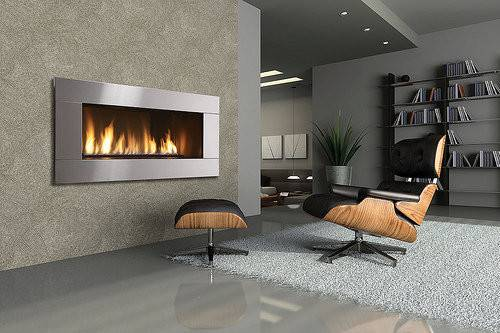 Modern Wall Fireplace Design Trend Home Designs
