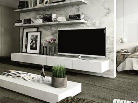 Modern Wall Units Living Room Decor