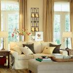 Modern Warm Living Room Interior Decorating Ideas