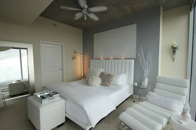 Modern White Bedroom Other