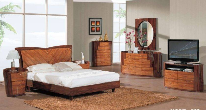 Modern Wood Bedroom Furniture Decorate House