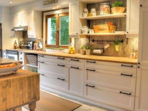 Moderne Rustique Rustic Kitchen Cabinetry Other