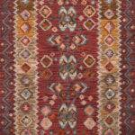 Momeni Tangier Collection Tan Red Area Rug Kaoud Rugs