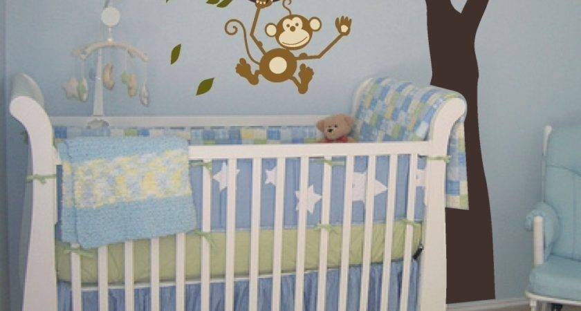 Monkey Baby Room Decor Home Decorating Ideas