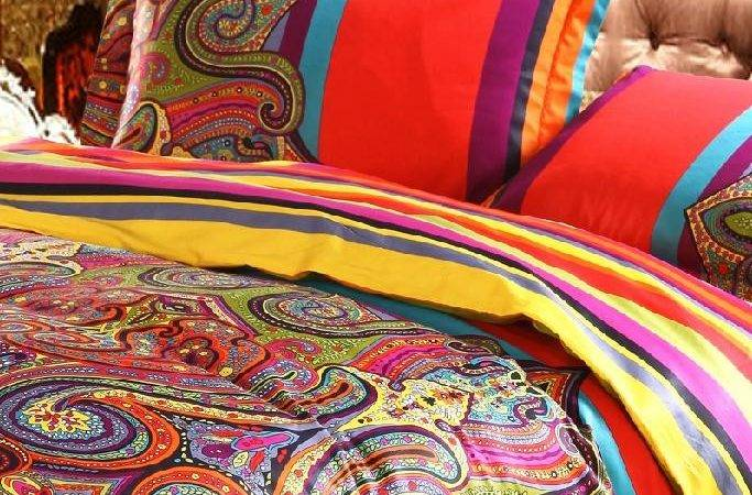 Moroccan Inspired Bedding Print
