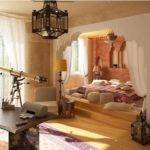 Moroccan Style Bedroom Home Decorating Ideas