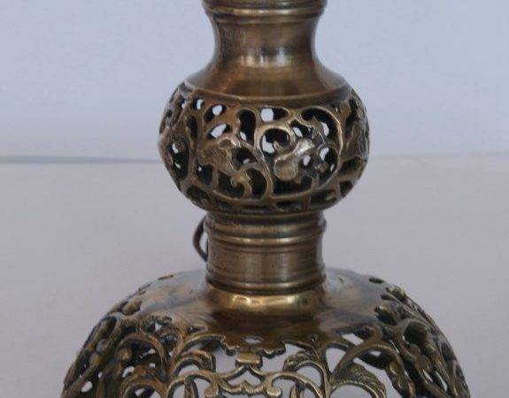 Moroccan Style Brass Lamps Stdibs