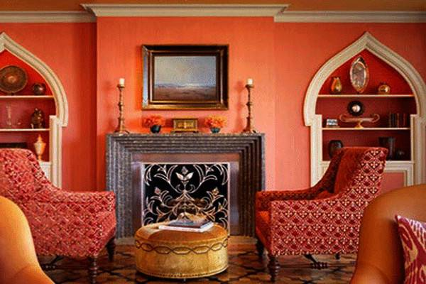 Moroccan Style Home Decorating Colorful Sensual