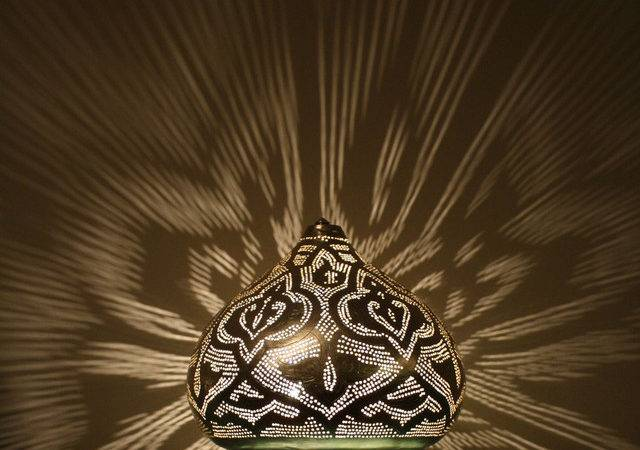 Moroccan Style Lamps Mediterranean Table