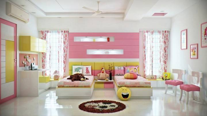 Most Creative Bedrooms Children Home Decor Ideas
