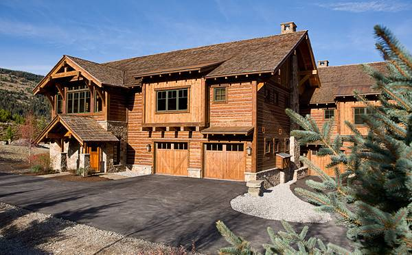Mountain Chalet Timber Frame