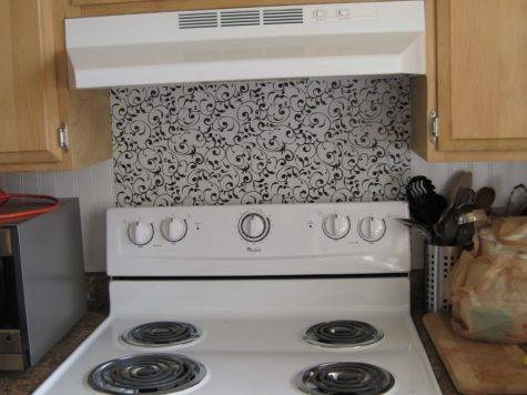 Mrs Tips Less Backsplash Your Stovetop