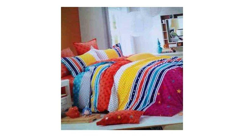 Multi Coloured Duvet Set Essentials