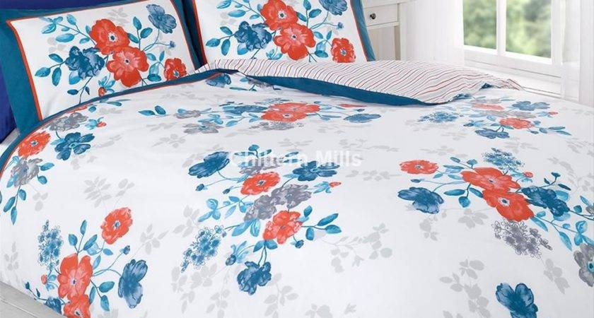 Multi Coloured Madeline Duvet Cover Set