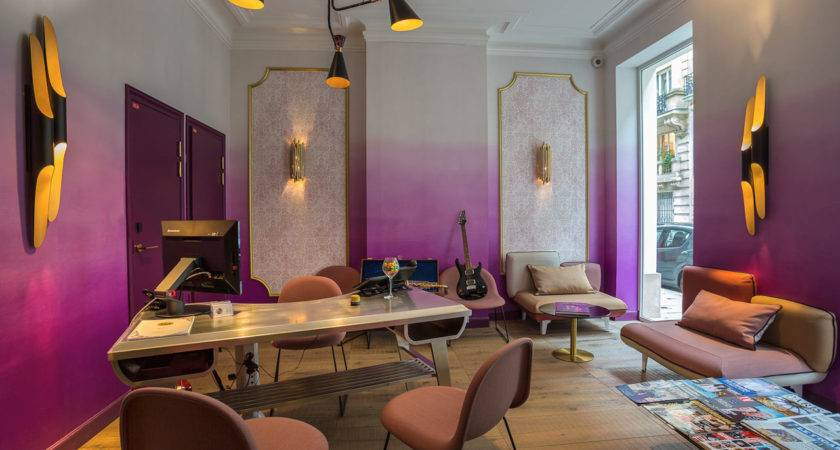 Music Inspired Boutique Hotel Paris Design Milk