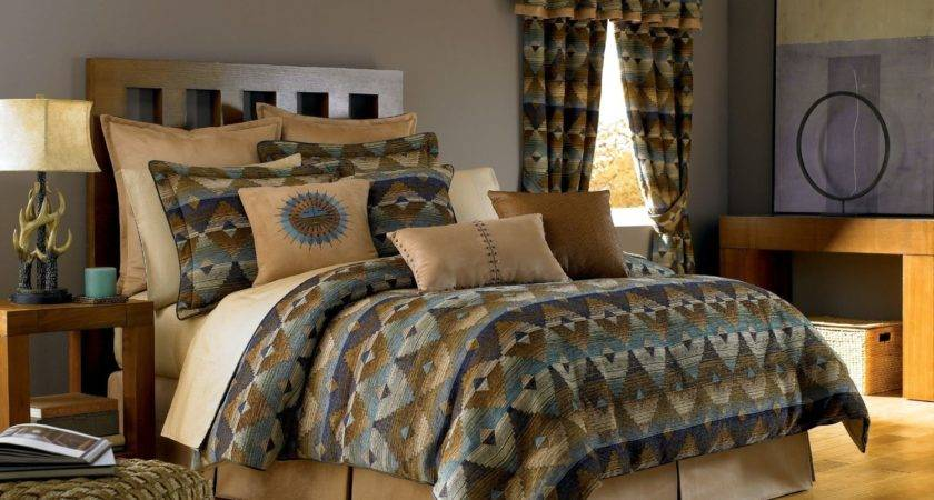 Native American Bedroom Design Total Fab Southwest Style