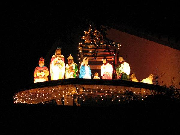 Nativity Christmas Lighted Outdoor Decorations Legendary