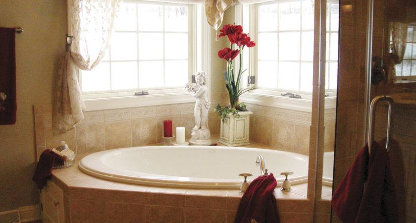 Natural Bathroom Decorating