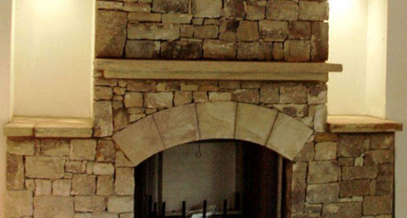Natural Stone Fireplace Ideas