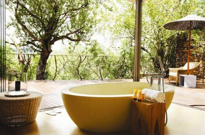 Nature Inspired Bathroom Designs