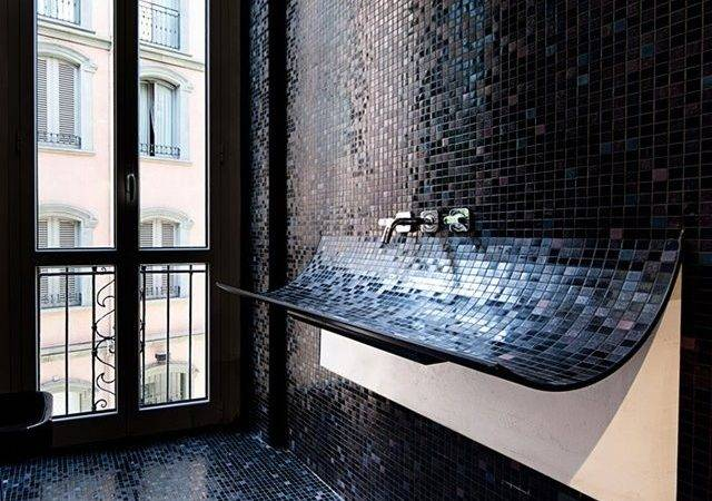 Navy Blue Bathroom Tiles Ideas