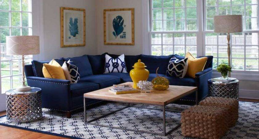 Navy Blue Living Room Chair Modern House