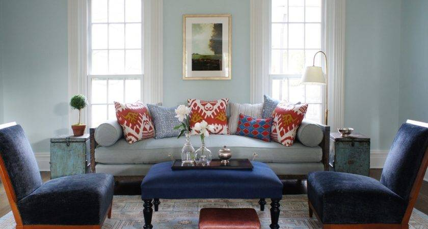 Navy Blue Living Room Ideas Traditional Velvet Chair