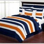 Navy Blue Orange Bedding Sets Uncategorized