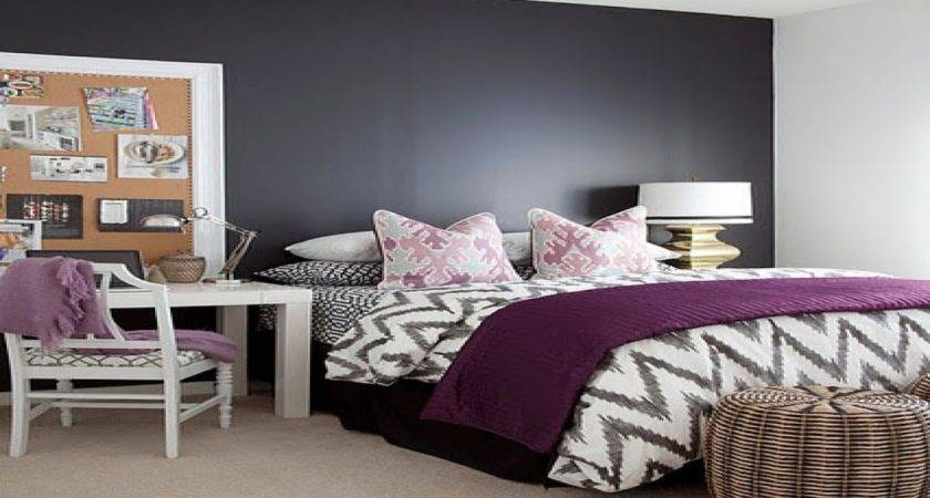 Navy Pink Bedroom Ideas Gray Purple Color