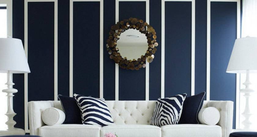 Navy Rooms Inspire Pick Paintbrush