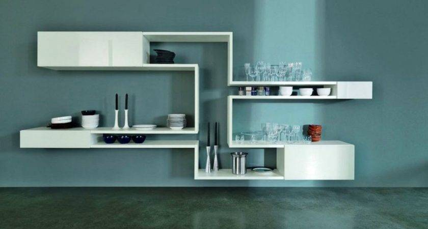 Neat Floating Shelf Decorating Ideas