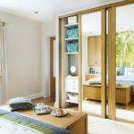Neutral Bedroom Built Mirrored Wardrobe