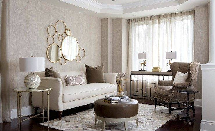 Neutral Palette Living Room Contemporary