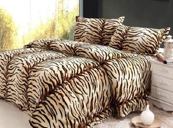 New Arrival High Quality Super Soft Coral Fleece Tiger