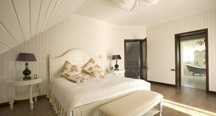 New England Style Bedroom Attic Serious Charm